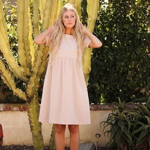 Orange creek Catch Me In Cappadocia Dress - Blush